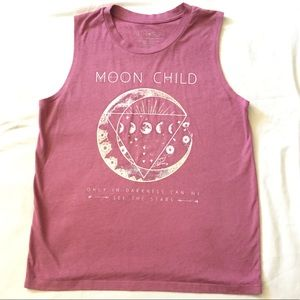 MOON CHILD Sleeveless Tee
